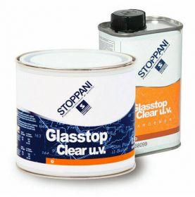 Vernis marin Stoppani Glassop clear UV bi-composant 0.75 L