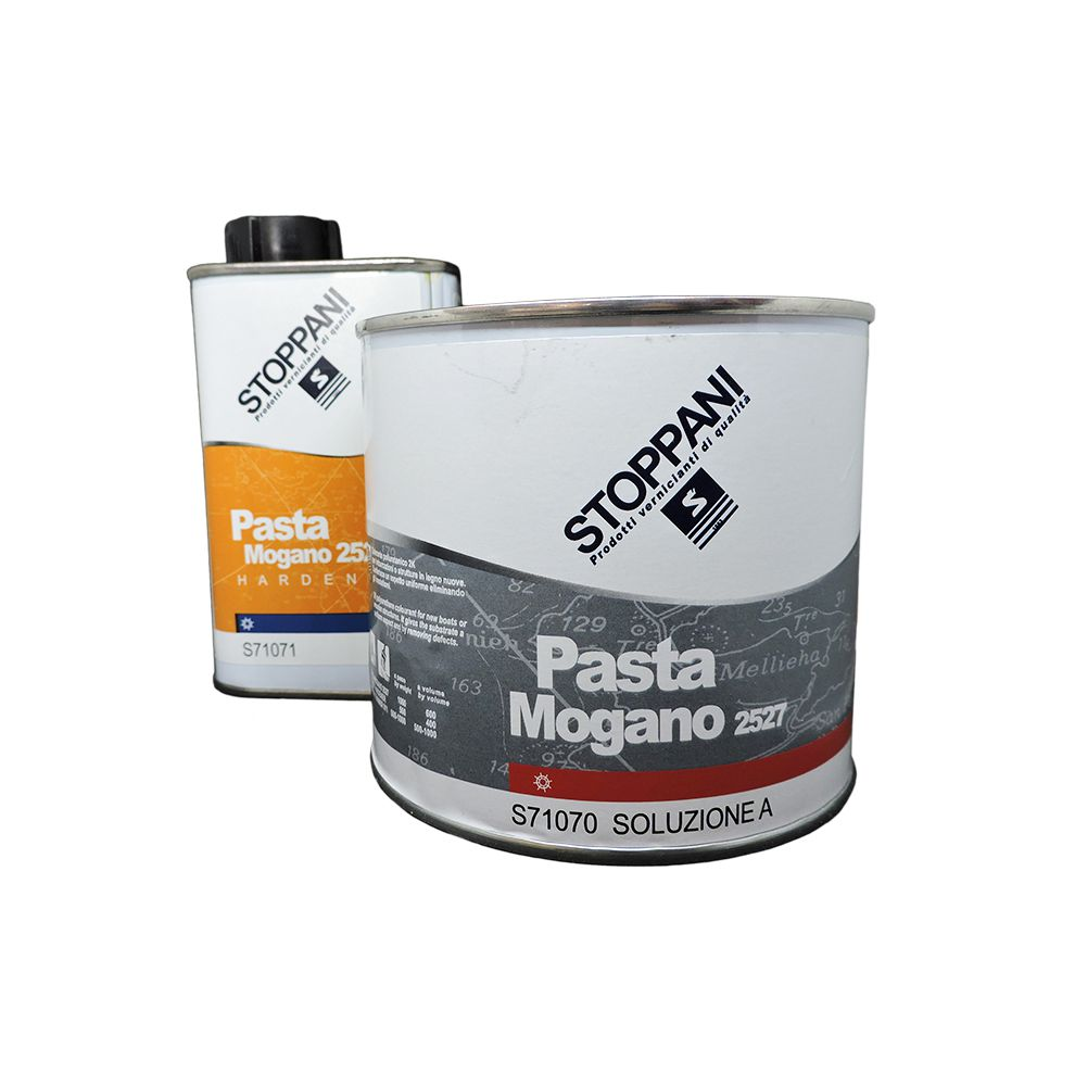 Teinte bois acajou bicomposante Stoppani PASTA MOGANO en 0.5L