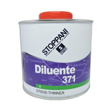 Diluant Stoppani 371 pour vernis bicomposant brosse 1L