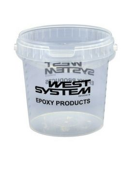 Pot gradué mélangeur West System