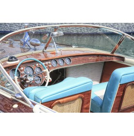 vernis Stoppani sur bateau italien Riva
